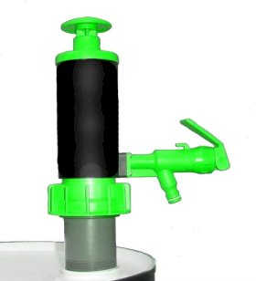Green Viton Hand Pump for Drums & Pails-w280px