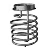 Heating Coil - 250 Gallon Stainless Steel IBC - compatible with M72-7905