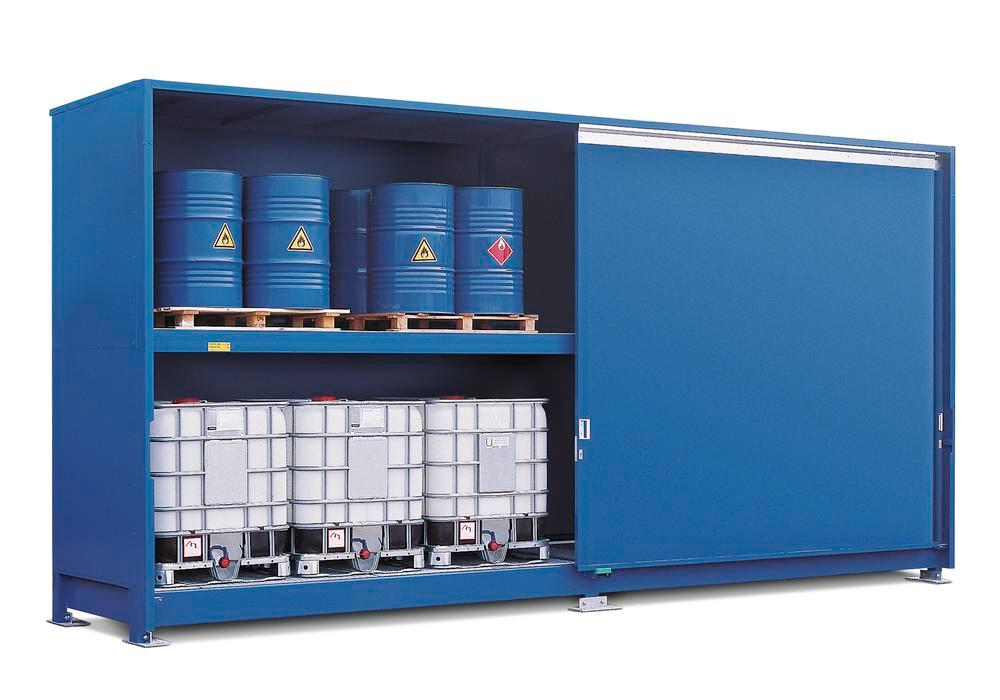 Chemical Storage Cabinet Non Combustible 12ibc 1 Side 2