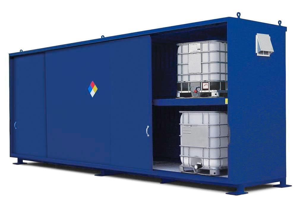 Chemical Storage Cabinet Non Combustible 48 Dr 4 Bays