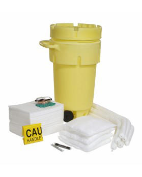Oil-Only 50 Gallon Transportable Drum Overpack Spill Kit