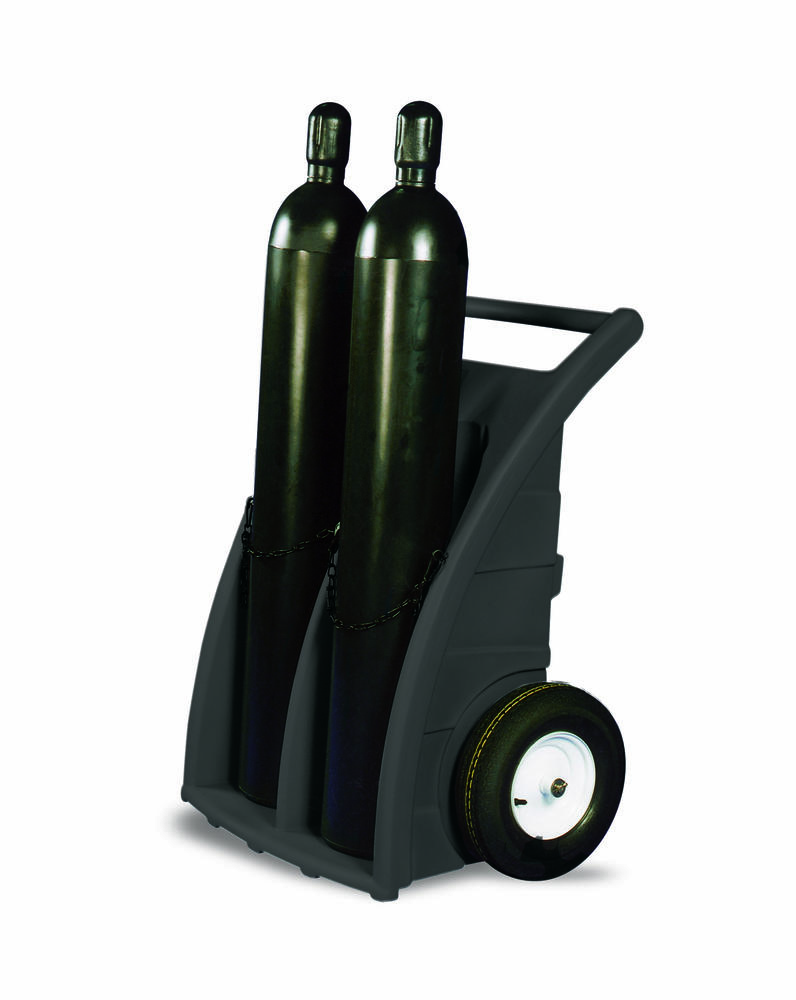 Poly Cylinder Dolly/Cart - Dual Cylinder