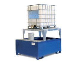 Single IBC Dispensing Stand - Platform + Stand-w280px