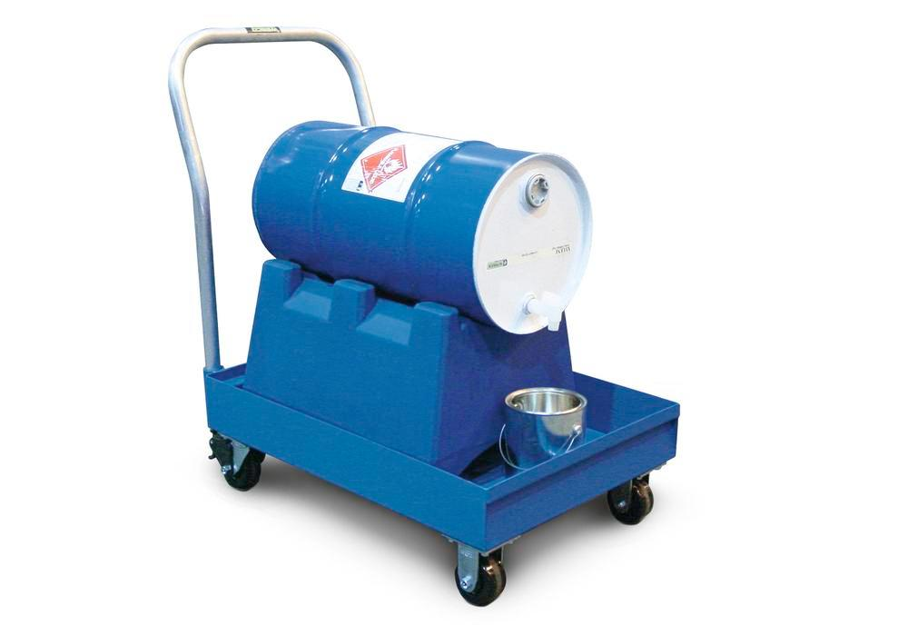 Spill Cart - 16 Gallon - 16-gal without Grating