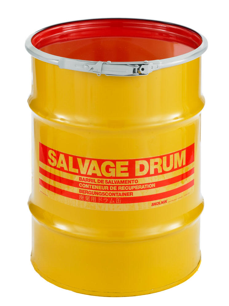 Steel Salvage Drums 10 Gallon