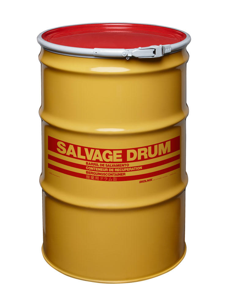 Steel Salvage Drums 55 Gallon
