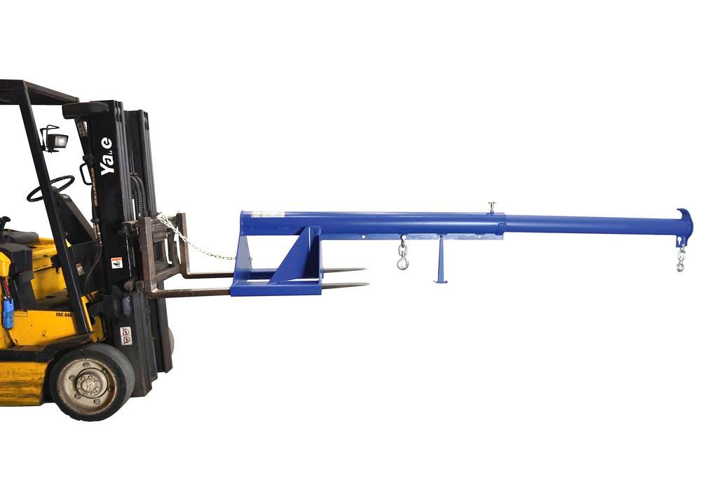 Telescoping Lift Boom 6K 30In Wide Forks
