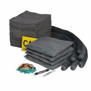 Universal 50 Gallon Transportable Drum Overpack Spill Kit - Refill