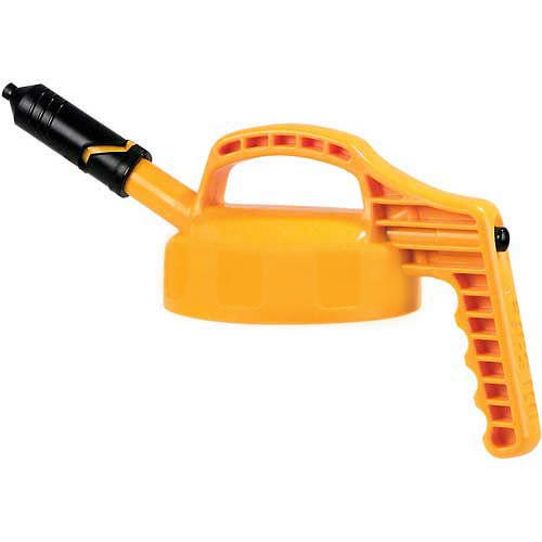Yellow Mini Spout Lid for Dispensing Bottle