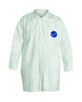 Dupont Tyvek Lab Coat, Snap Front XL-w280px