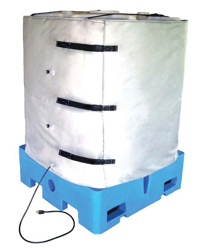 Heater for IBC Tote - Full Cover - 240V - 36 in. high - 2