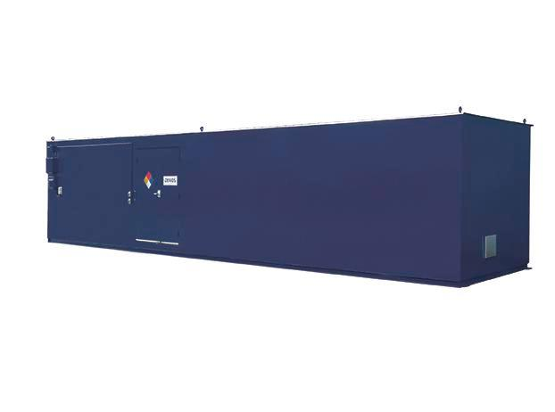 12' Non-Combustible Storage Building - 125 Drum