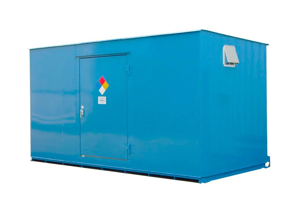 12' Non-Combustible Storage Building - 40 Drum