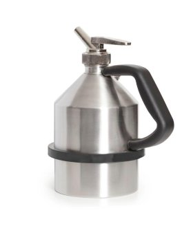 "Safety Can - 2-Liter - Stainless Steel - Fine Measuring Tap - G1 1/4"" Thread-w280px"