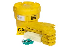 Hazmat Spill Kit - 20-Gallon - Absorbs up to 15.2 Gallons - DOT Approved-w280px