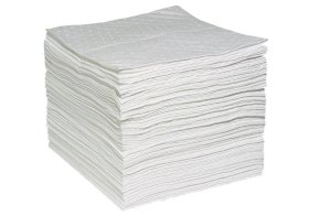 "Oil-Only Absorbent Pads - Heavy Weight - 15"" x 19"" - Perforated - WPF100H-w280px"