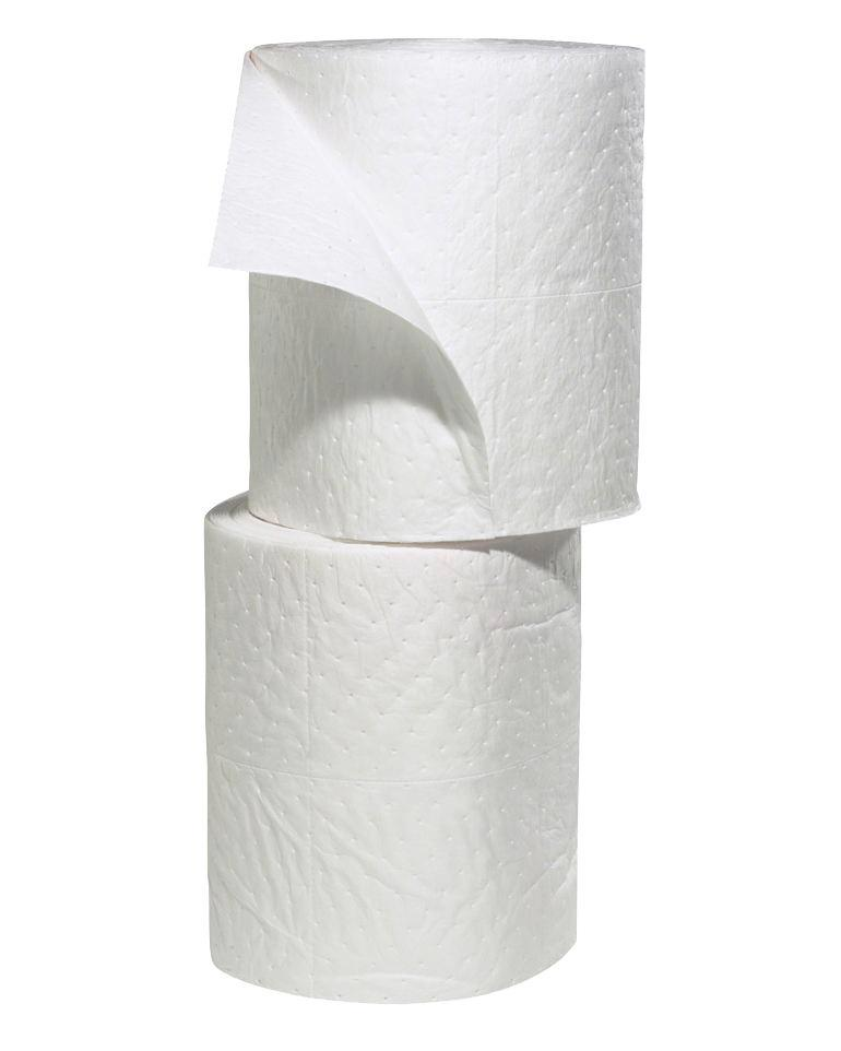 """Oil-Only Absorbent Rolls - Heavy Weight - 15"""" x 150' - for Large Spills"""