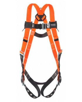 Non-Stretch Harness - Titan II - Back D-Ring - Mating Buckle Legs - Without Shoulder Buckle-w280px